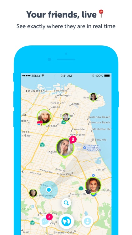 Zenly - Locate your friends in realtime