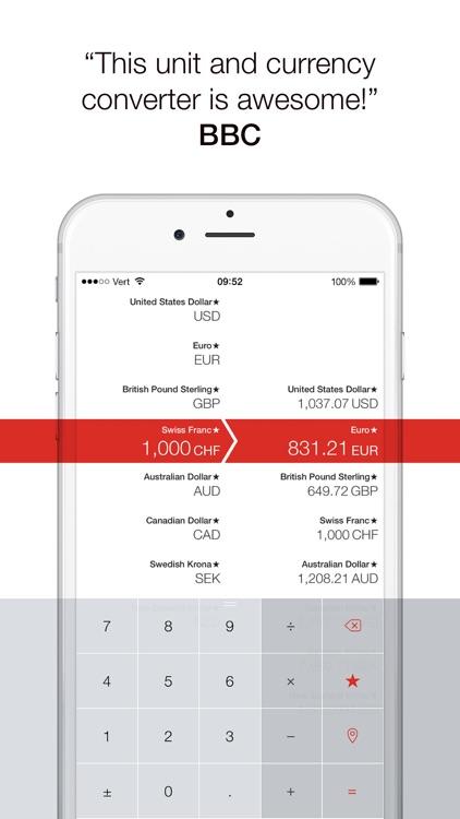 Vert - Unit, Currency and Temperature Converter screenshot-0
