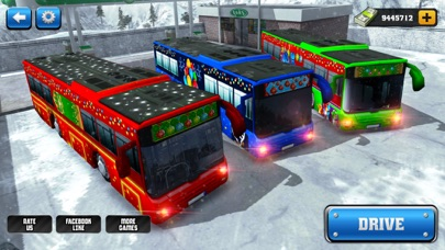 OffRoad Snow Bus Driving 2017-Hill Drive Simulator