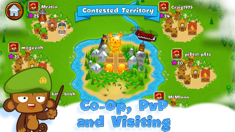 Bloons Monkey City screenshot-3