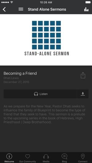 Blueprint church on the app store malvernweather Choice Image
