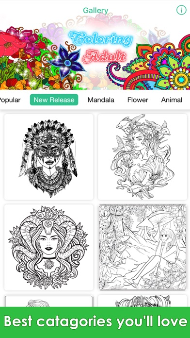 Coloring Book Me Recolor Pages For Adults App Detail Reviews