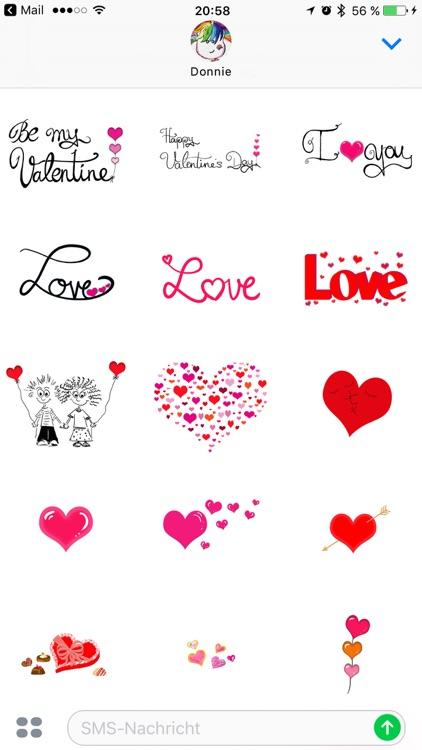 Ultimate Valentines Sticker Pack