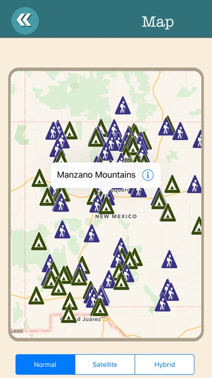New Mexico State Campgrounds & Hiking Trails