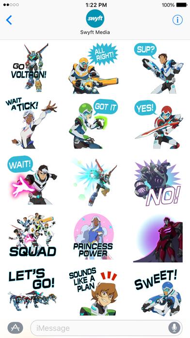 Voltron Stickers screenshot 2