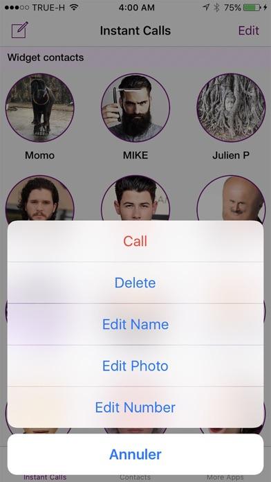 Instant Calls Widget Screenshot 3
