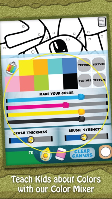 Paint & Play Animal Planet, Coloring Book For Kids screenshot one