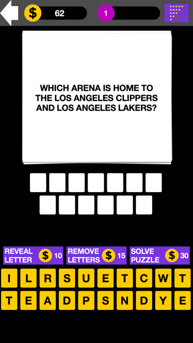 Q&A NBA Basketball Quiz Maestro screenshot one