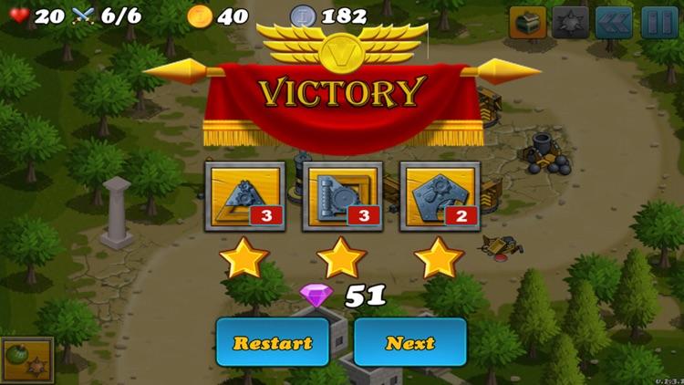 Kingdom Defender Battle - Defense Games screenshot-3