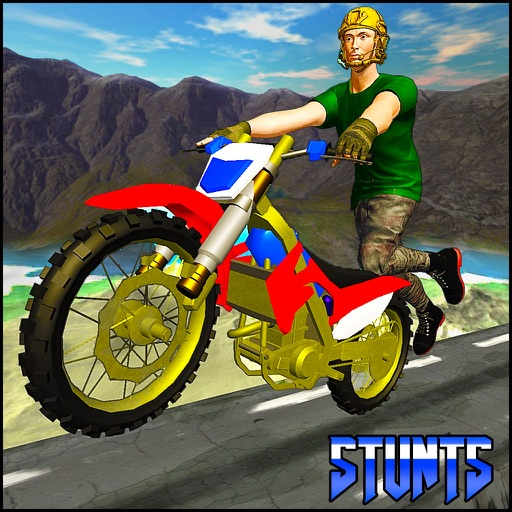 Jumping Moto Bike Stunts