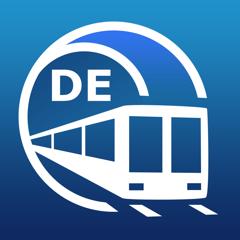 Berlin U-Bahn-Führer mit Offline Karte