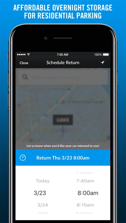 Luxe: On Demand Valet Parking & Car Services