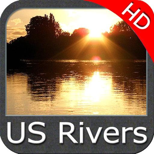 US Rivers HD - GPS Map Navigator