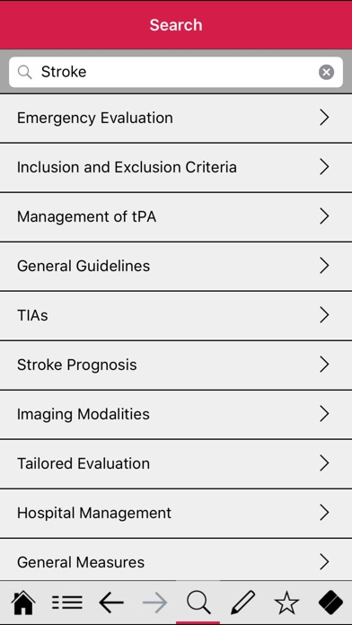Stroke pocketcards Screenshot 3
