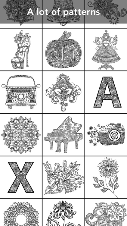 Mandala Coloring Book screenshot-0