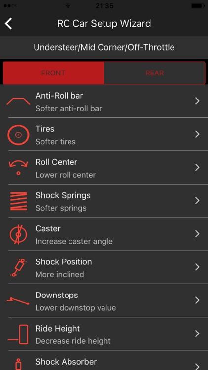 RC Car SetUp Wizard screenshot-3