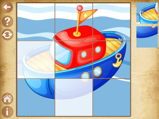 Детские игры для мальчиков Пазлы для малышей детей для iPad