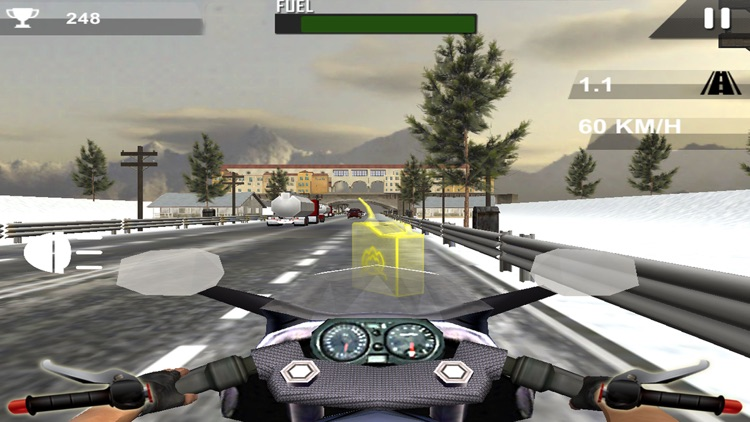 Stunt Moto Traffic Rider 2017 screenshot-3
