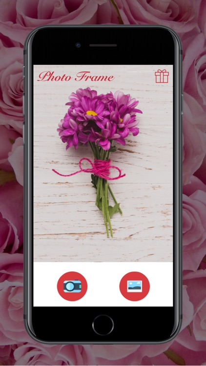 Flower Photo Frame - Instant Frame Maker screenshot-0