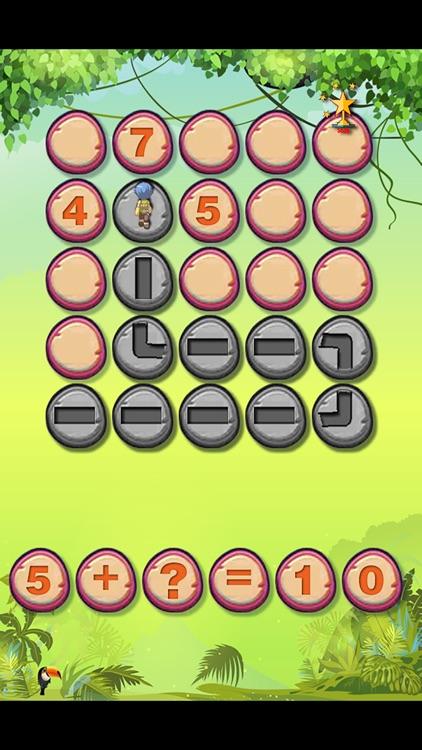 美国经典儿童数学游戏-迷失丛林