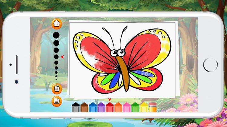 Animal Coloring Book For Children Game screenshot-3