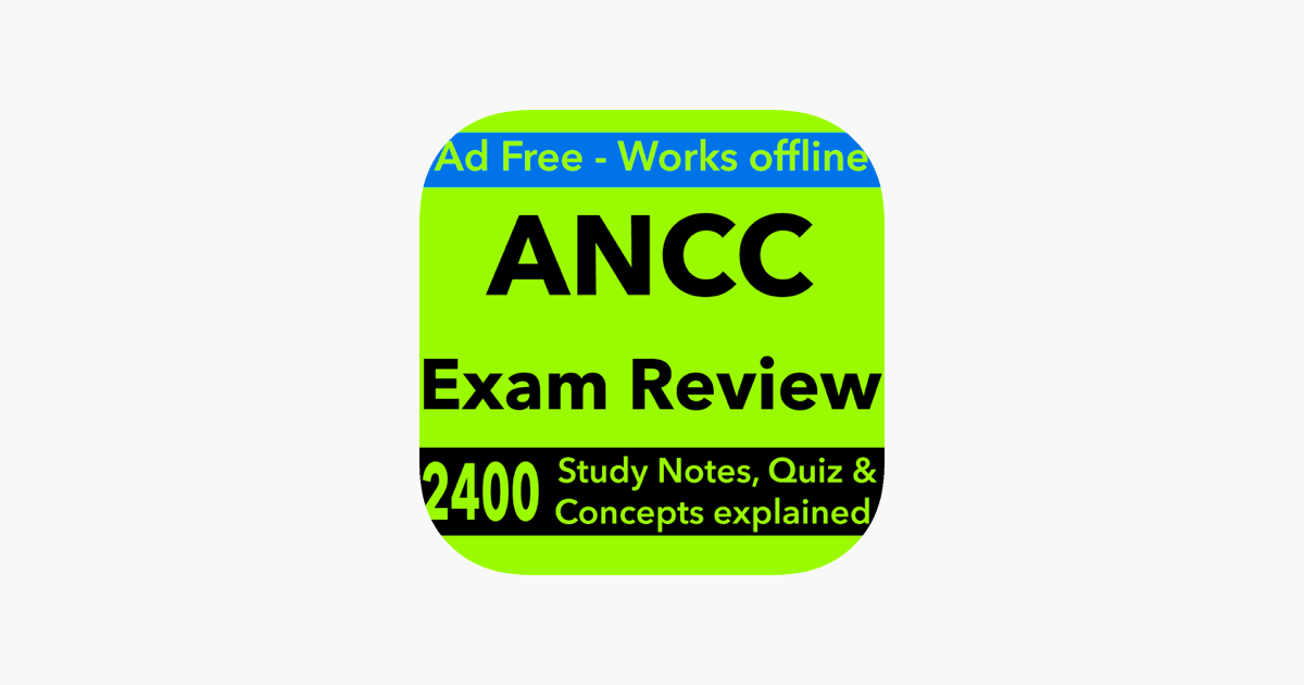 Ancc Exam Review Study Guide 2017 Terms Qa On The App Store