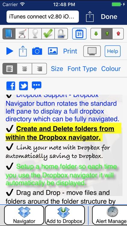 iDo Notepad Pro (Journal/Diary) screenshot-4
