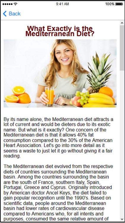 Mediterranean Diet Plans & Mediterranean Recipes