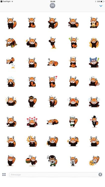 Red Panda Facial Expressions