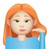 Gingermoji - Redhead Emoji Stickers for iMessage