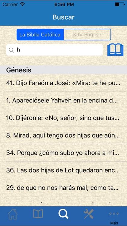 La Biblia Catolica screenshot-4