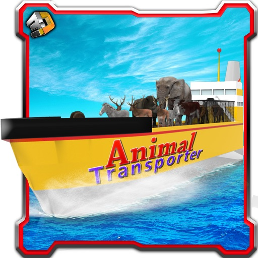 Cargo Ship Animal Transporter & Boat Sailing Game