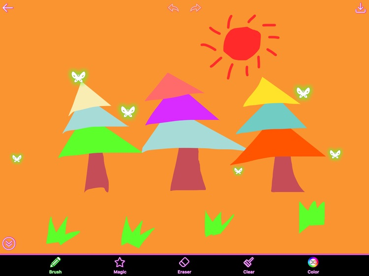 Kids Painting HD - Draw,Paint on Sketch Board