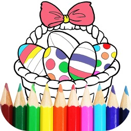 Easter Coloring Book – Colouring Pages for Kids