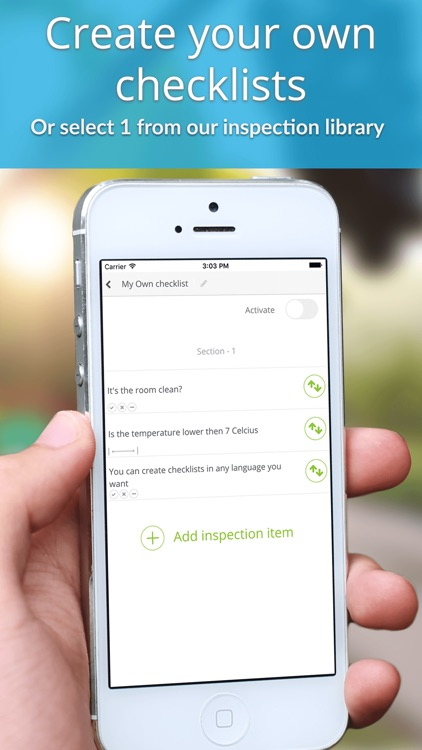 Inspection & ISO Audit app