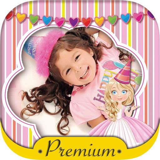 Fairy princess photo frames for kids – Pro