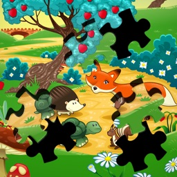 Zoo Jigsaw Game: Safari Animals Puzzle Memory