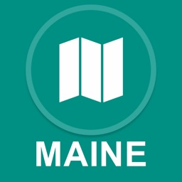 Maine, USA : Offline GPS Navigation