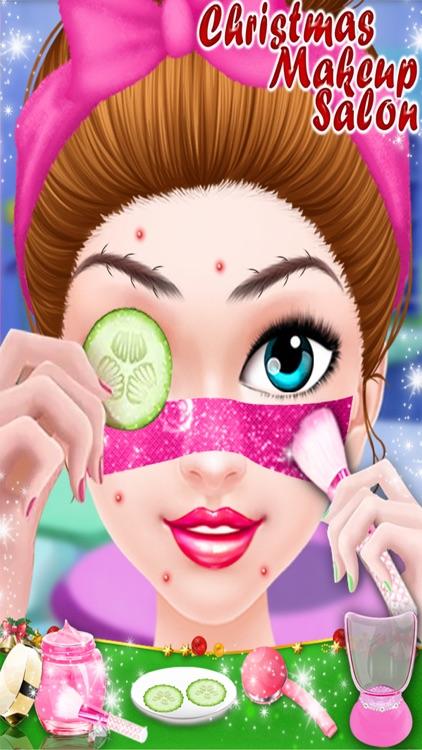 Christmas Girl Makeup Salon - Make Up Me Games