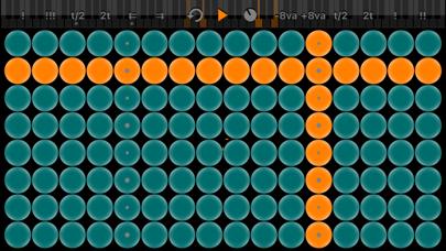 Screenshot #1 pour Arpeggionome for iPhone | matrix arpeggiator