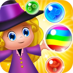 Magic Witch Pop: Bubble Shooter Games