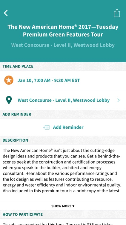 The 2017 NAHB International Builders' Show App screenshot-4