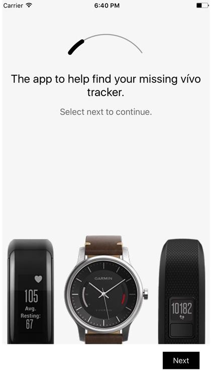 Finder for Vívo - find your Garmin device