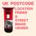 UK Postcode's Location and Location's Post code