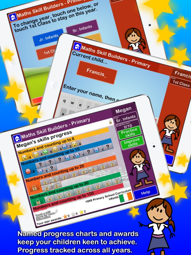 Maths Skill Builders - Primary - Ireland on the App Store