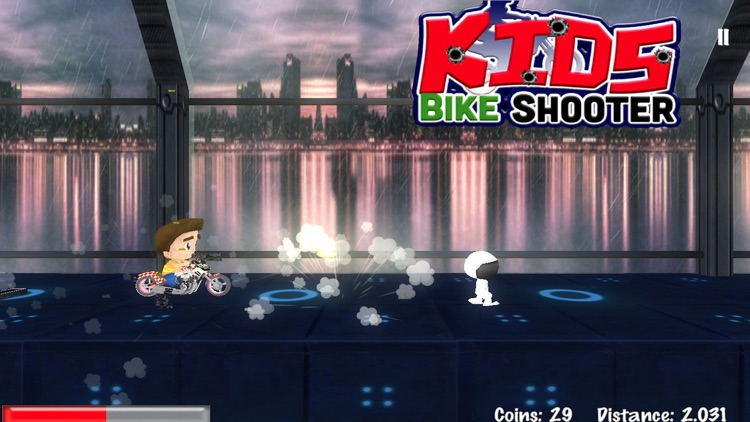 Kids Bike Shooter : Bike Racing Shooter For Kids
