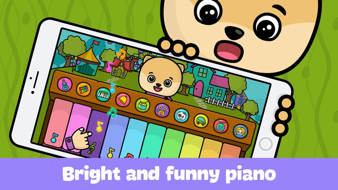Baby piano for kids & toddlers Screenshot