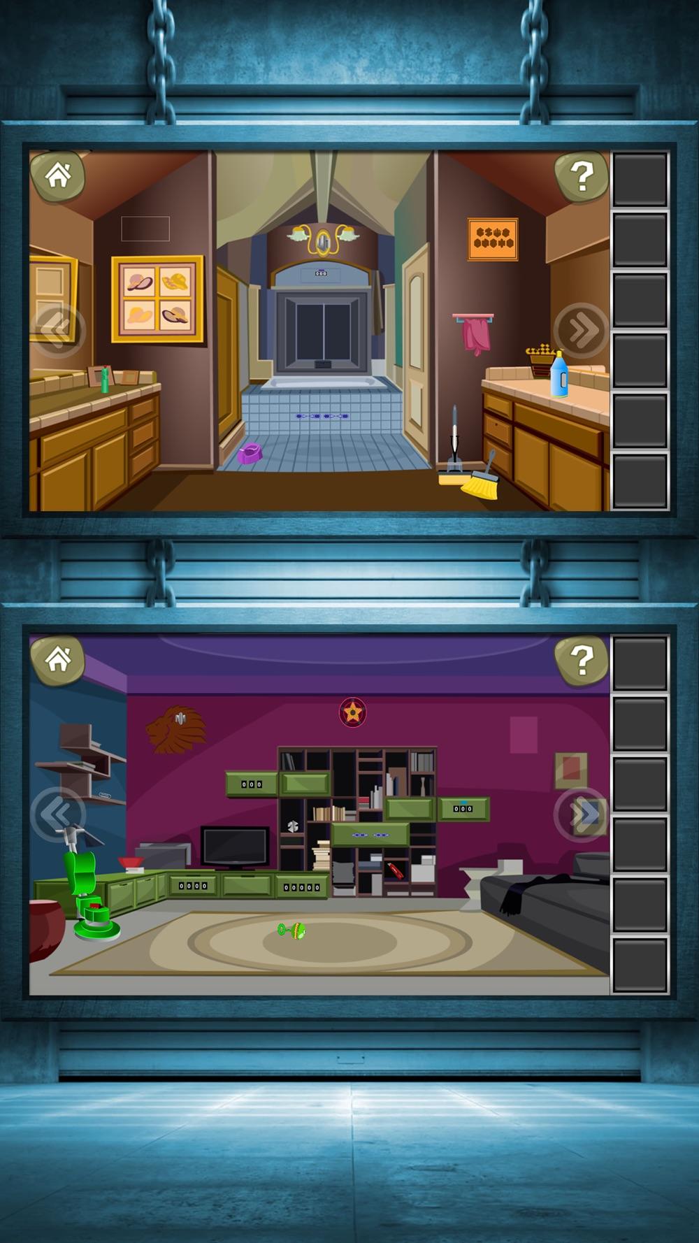 Escape Challenge 3:Escape The Room Games Cheat Codes