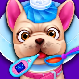 Baby Pet Vet Doctor - Dog, Cat & Animal Spa Games