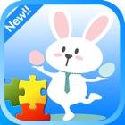 Schönes Osterhase Puzzle für Kinder icon
